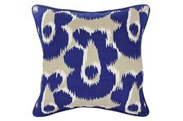 Accent Pillow-Freya Dark Blue 18X18