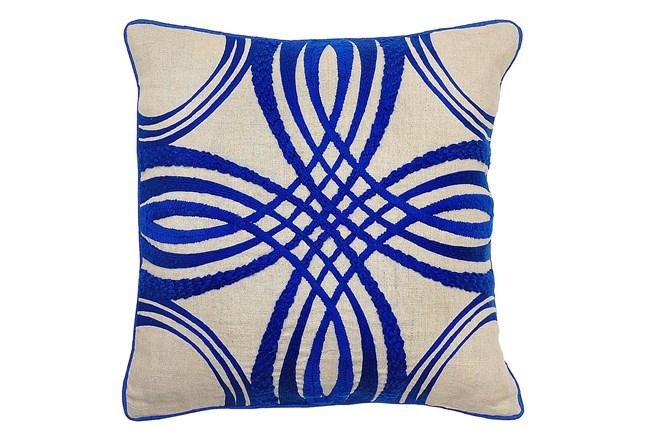 Accent Pillow-Zina Blue 18X18 - 360