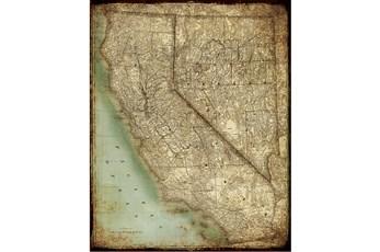 Picture-California Map II