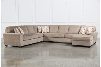Patola Park 5 Piece Sectional W/Raf Chaise