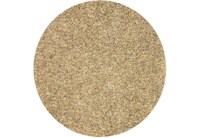 96 Inch Round Rug-Dolce Sand - 360