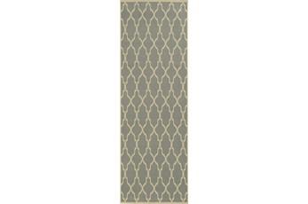27X90 Rug-Montauk Grey