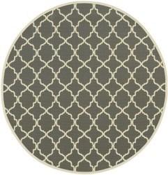 94 Inch Round Rug-Montauk Stone - 360