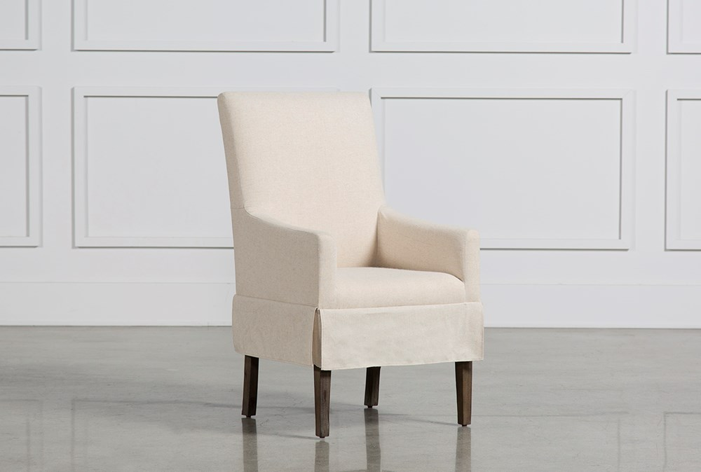 Mindy Slipcovered Side Chair