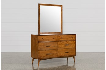 Alton Cherry Dresser/Mirror