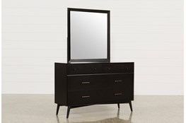 Alton Black Dresser/Mirror