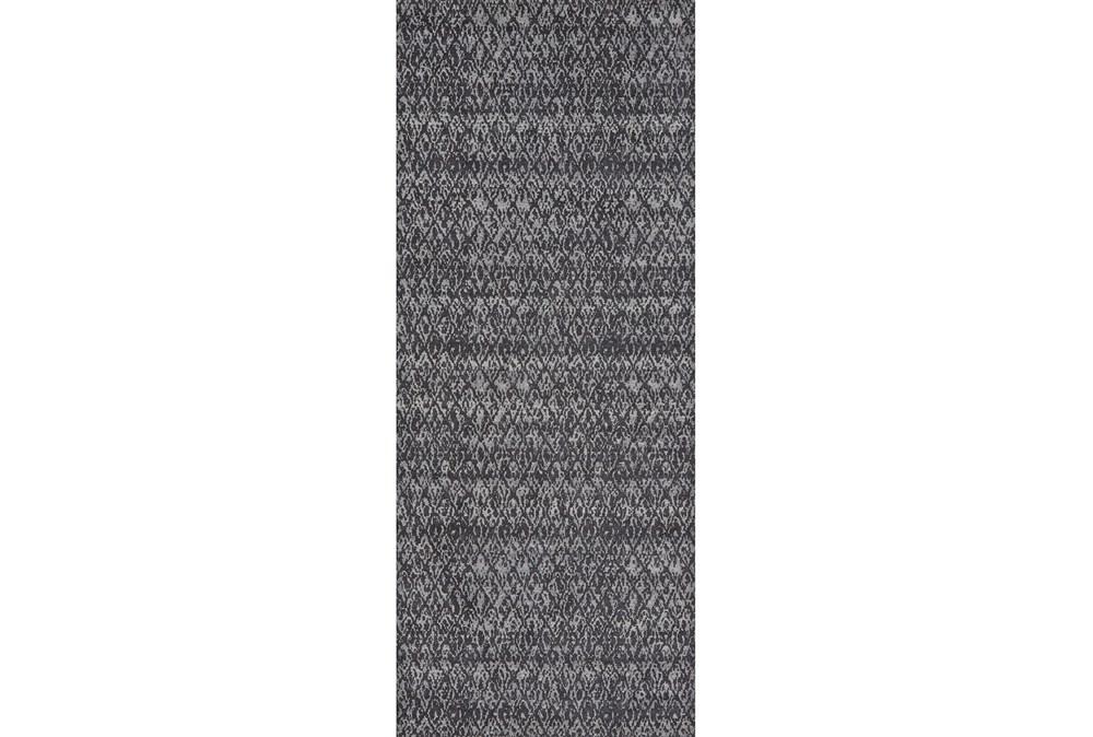 34X94 Rug-Luca Dark Grey