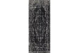34X94 Rug-Kyrin Black