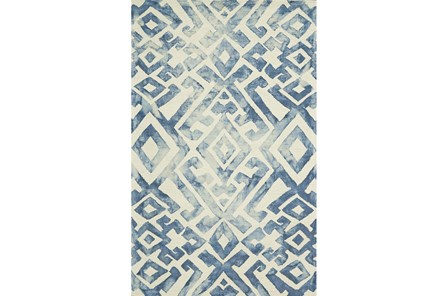 114X162 Rug-Tristen Midnight Blue