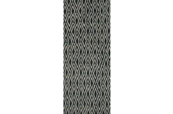 30X96 Rug-Lex Grey/Black