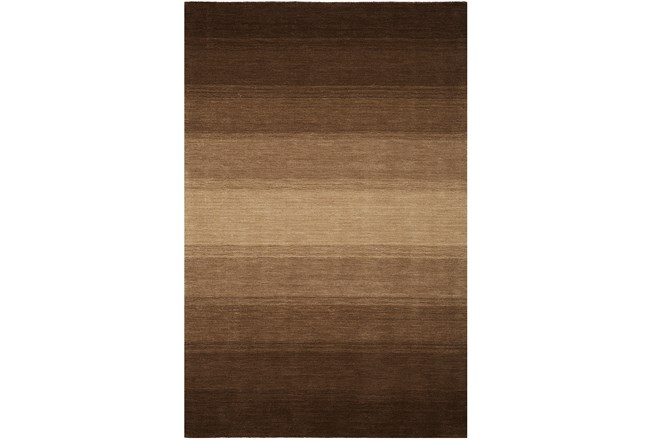 93X117 Rug-Ombre Chocolate - 360