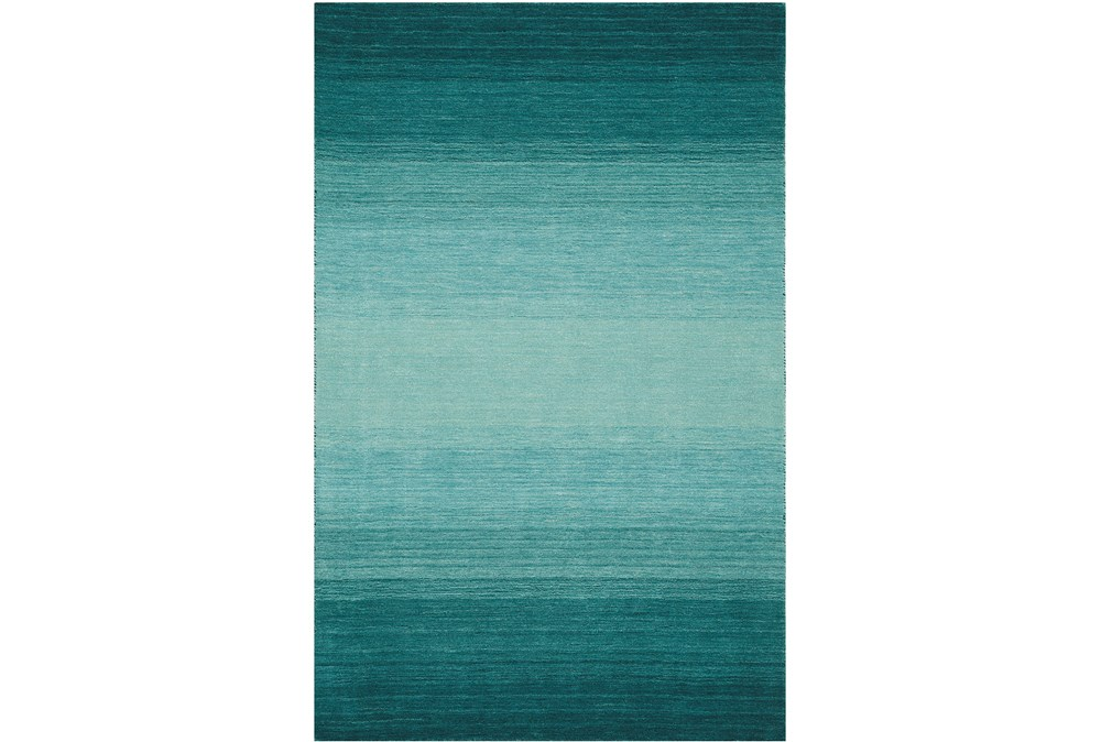 60X87 Rug-Ombre Teal