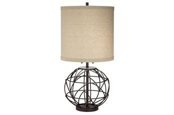 Table Lamp-Baxter Iron
