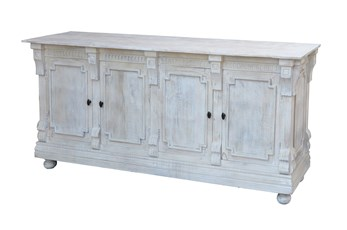 Kari White 4-Door Sideboard