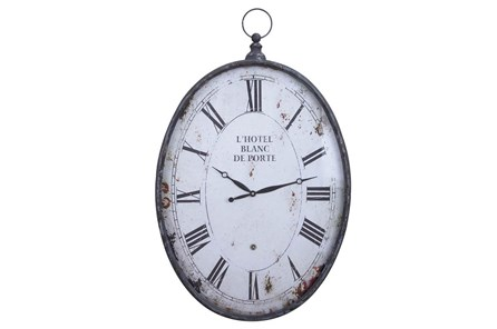 23 Inch Metal Wall Clock