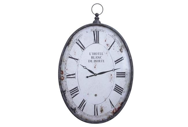 23 Inch Metal Wall Clock - 360