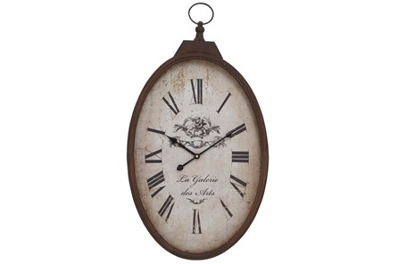 16 Inch Metal Wall Clock