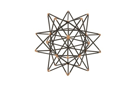 7 Inch Metal Wire Star Decor