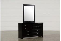 Summit Black Dresser/Mirror
