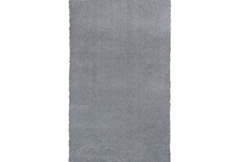 39X63 Rug-Elation Shag Grey