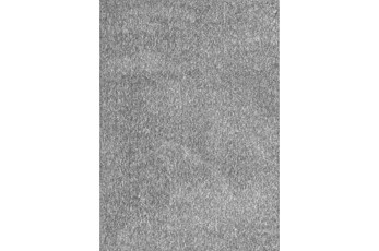 27X45 Rug-Elation Shag Heather Grey