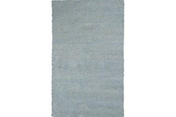 60X84 Rug-Elation Shag Heather Blue