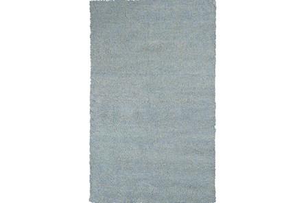 60X84 Rug-Elation Shag Heather Blue