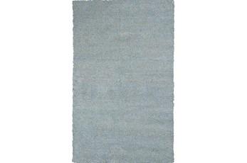 90X114 Rug-Elation Shag Heather Blue