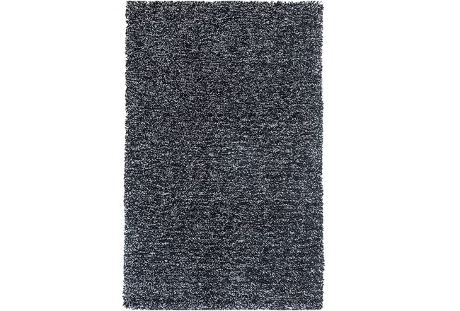 39X63 Rug-Elation Shag Heather Black - 360