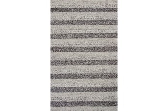 90X114 Rug-Charlize Grey/White