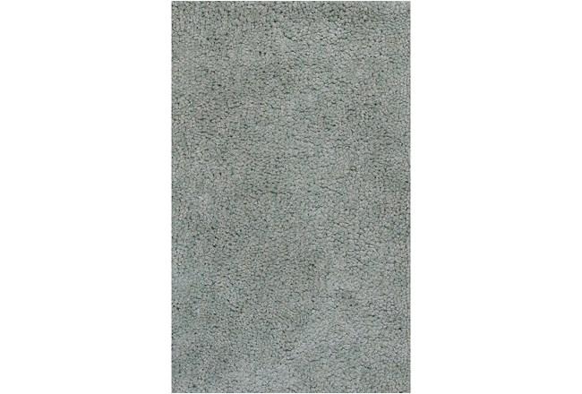 60X84 Rug-Velardi Grey Shag - 360