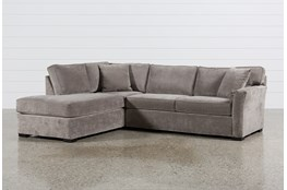 Aspen 2 Piece Sleeper Sectional W/Laf Chaise
