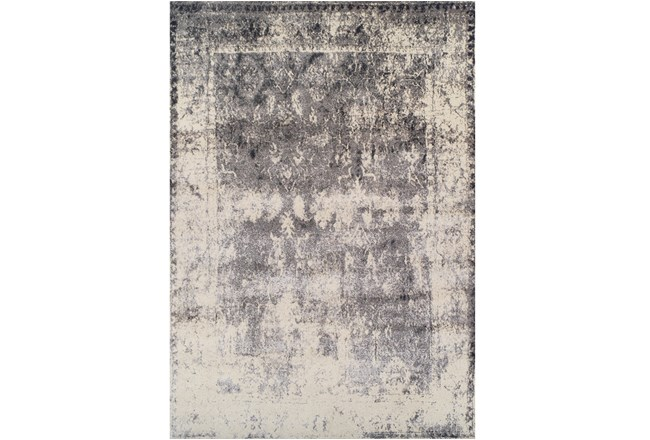 63X91 Rug-Bowery Charcoal - 360
