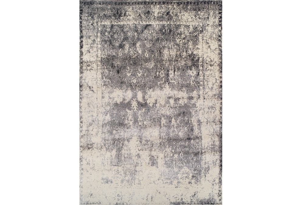 94X127 Rug-Bowery Charcoal