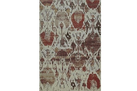 94X127 Rug-Ikat Sunset