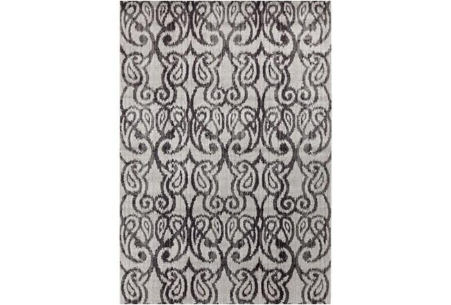 62X90 Rug-Ketton Charcoal Paisley - 360