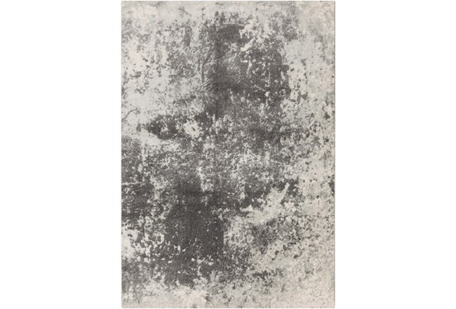 90X126 Rug-Ketton Abstract Light Grey - 360