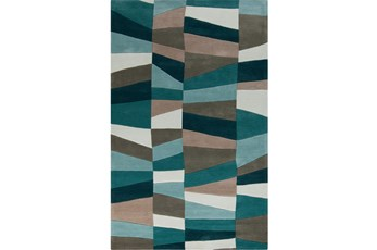 60X96 Rug-Trixie Teal