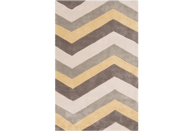 60X96 Rug-Ziggy Butter/Grey - 360