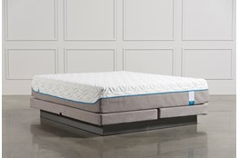 Tempur-Pedic Cloud Supreme Cal King Mattress W/Low Profile Foundation