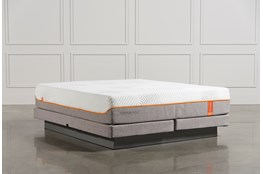 Tempur-Pedic Contour Rhapsody Luxe Cal King Mattress W/Low Profile Foundation