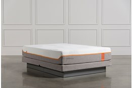 Tempur-Pedic Contour Rhapsody Luxe Queen Mattress W/Low Profile Foundation