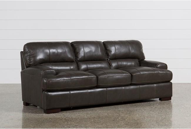 Andrew Leather Sofa - 360