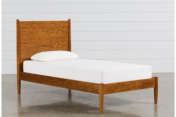 Alton Cherry Twin Platform Bed