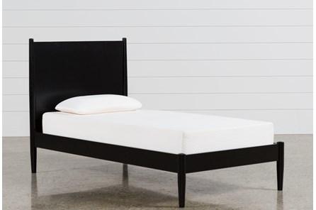 Alton Black Twin Platform Bed
