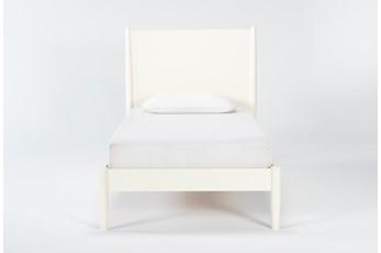 Alton Ecru Twin Platform Bed