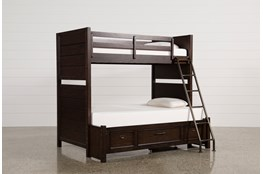 Elliot Twin Over Full Bunk Bed With Underbed Storage