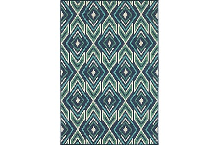 43X66 Outdoor Rug-West Bay Ikat