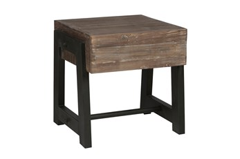 Marcellus Mocha End Table