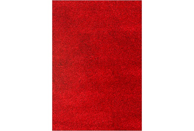 93X126 Rug-Rylee Shag Red - 360